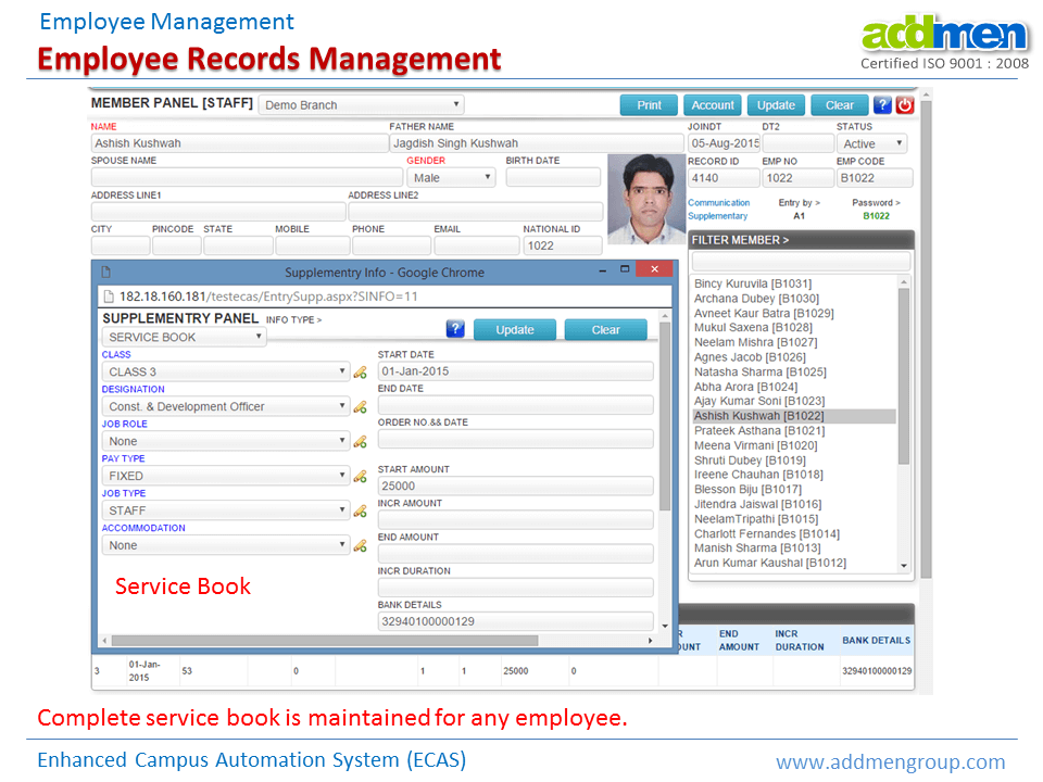 Employee Records Management Software