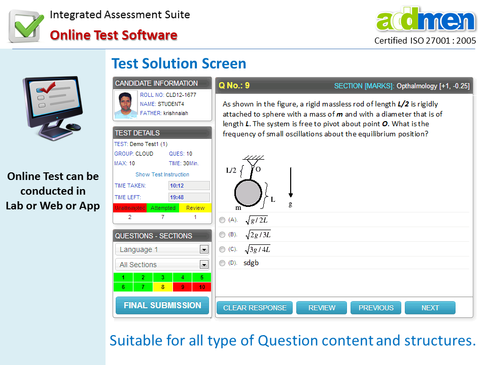 Online CAT Question Papers | Online Mock Tests for CAT